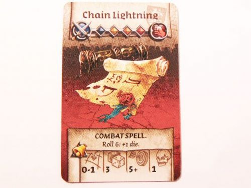 wulfsburg survivor equipment card (chain lightning)